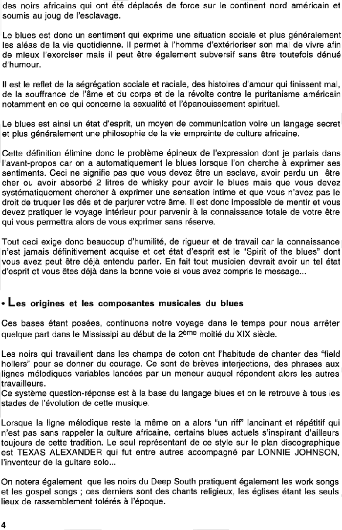 All Blues Extrait 3