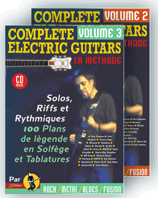 COMPLETE ELECTRIC GUITARS<br /> Volume 2 et 3 + CD
