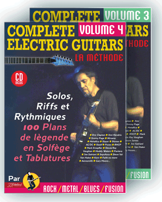 COMPLETE ELECTRIC GUITARS<br /> Volume 3 et 4 + CD