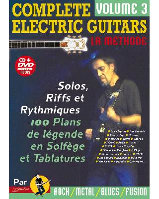 COMPLETE ELECTRIC GUITARS VOL 3 + CD + DVD