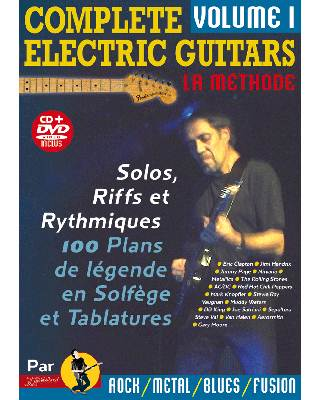 COMPLETE ELECTRIC GUITARS VOL 1 + CD + DVD