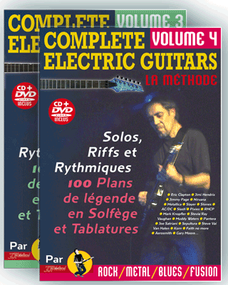 COMPLETE ELECTRIC GUITARS<br /> Volume 3 et 4 + CD + DVD