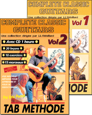 COMPLETE CLASSIC GUITARS<br /> Volume 1 et 2 + CD