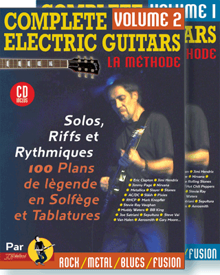 COMPLETE ELECTRIC GUITARS<br /> Volume 1 et 2 + CD