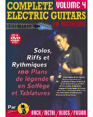 COMPLETE ELECTRIC GUITARS VOL 4 + CD + DVD