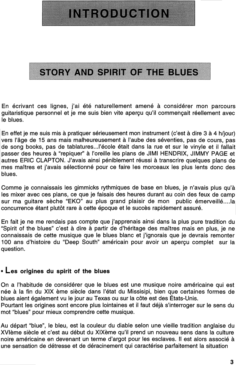 All Blues Extrait 2